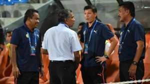 B. Sathianathan, Felda United, Abu Bakar Fadzim, PKNP FC, Malaysia Cup