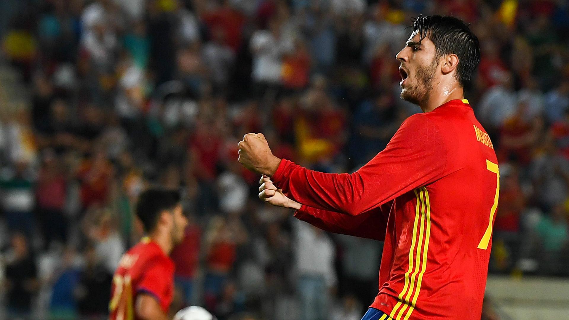 Alvaro Morata Spain Colombia Friendly 07062017