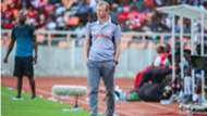 Simba SC coach Sven Vandenbroeck.