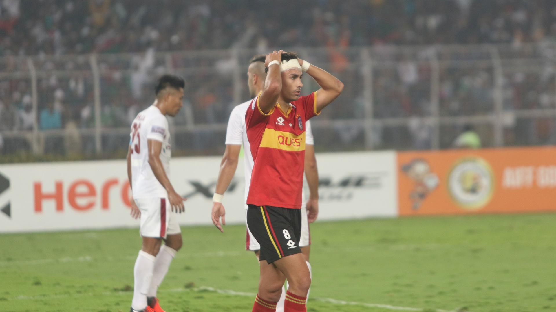 Jaime Santos Mohun Bagan East Bengal I-League 2019-20