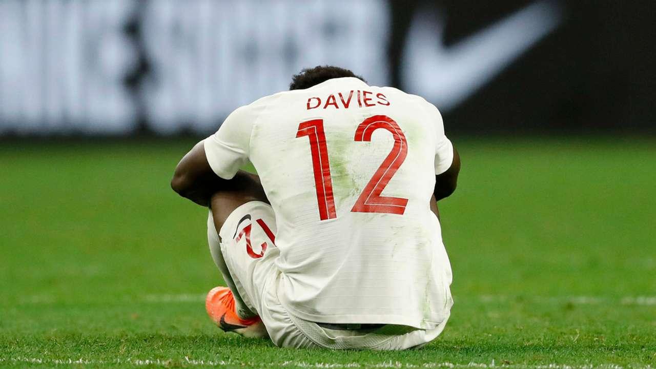 Alphonso Davies Canada Haiti Gold Cup 2019
