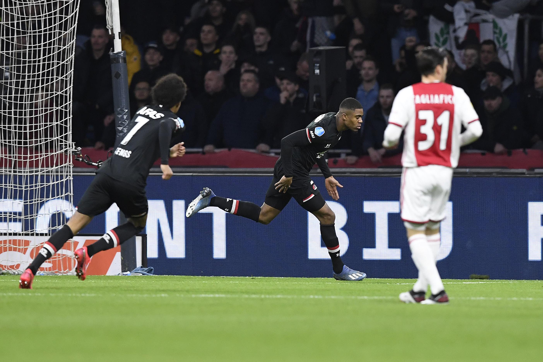 Ajax 0x2 AZ, pela Eredivisie, em 01/03/2020.