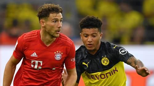 Leon Goretzka Jadon Sancho Bayern Dortmund