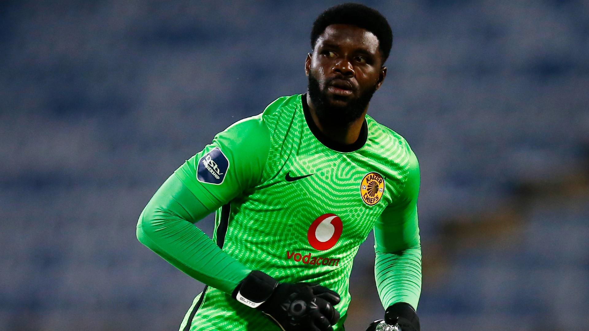 Kaizer Chiefs goalkeeper Akpeyi breaks silence after Champions League final defeat