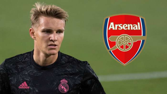 Martin Odegaard Real Madrid Arsenal
