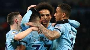 Leroy Sane Manchester City 2018-19