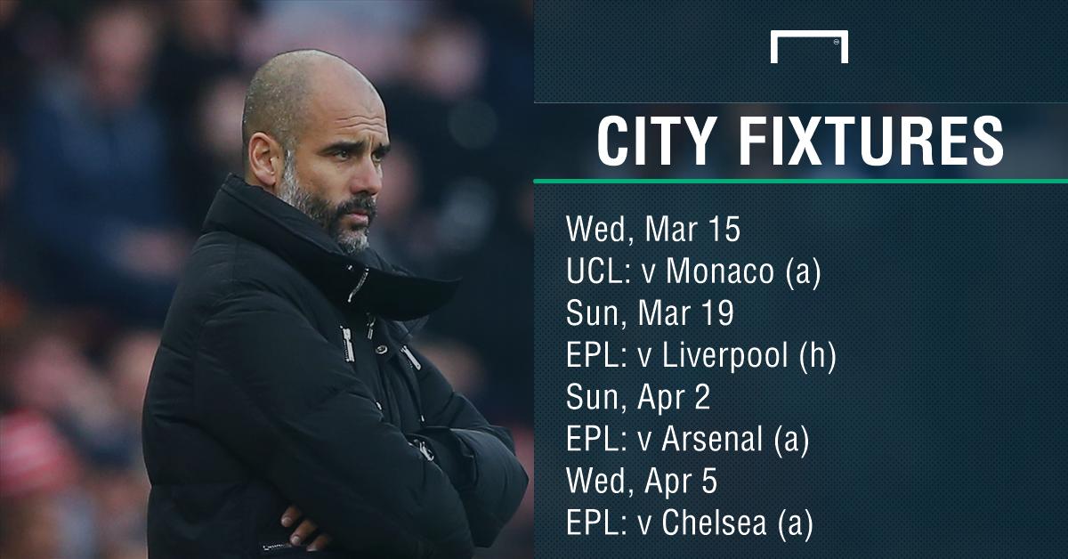 Man City fixtures PS