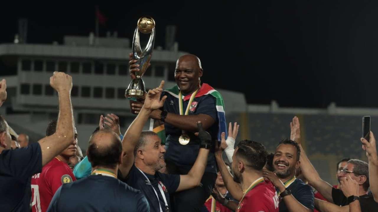 Pitso Mosimane - ahly 2021 - kaizer chiefs