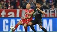 Arjen Robben Casemiro Bayern Munich Real Madrid Champions League
