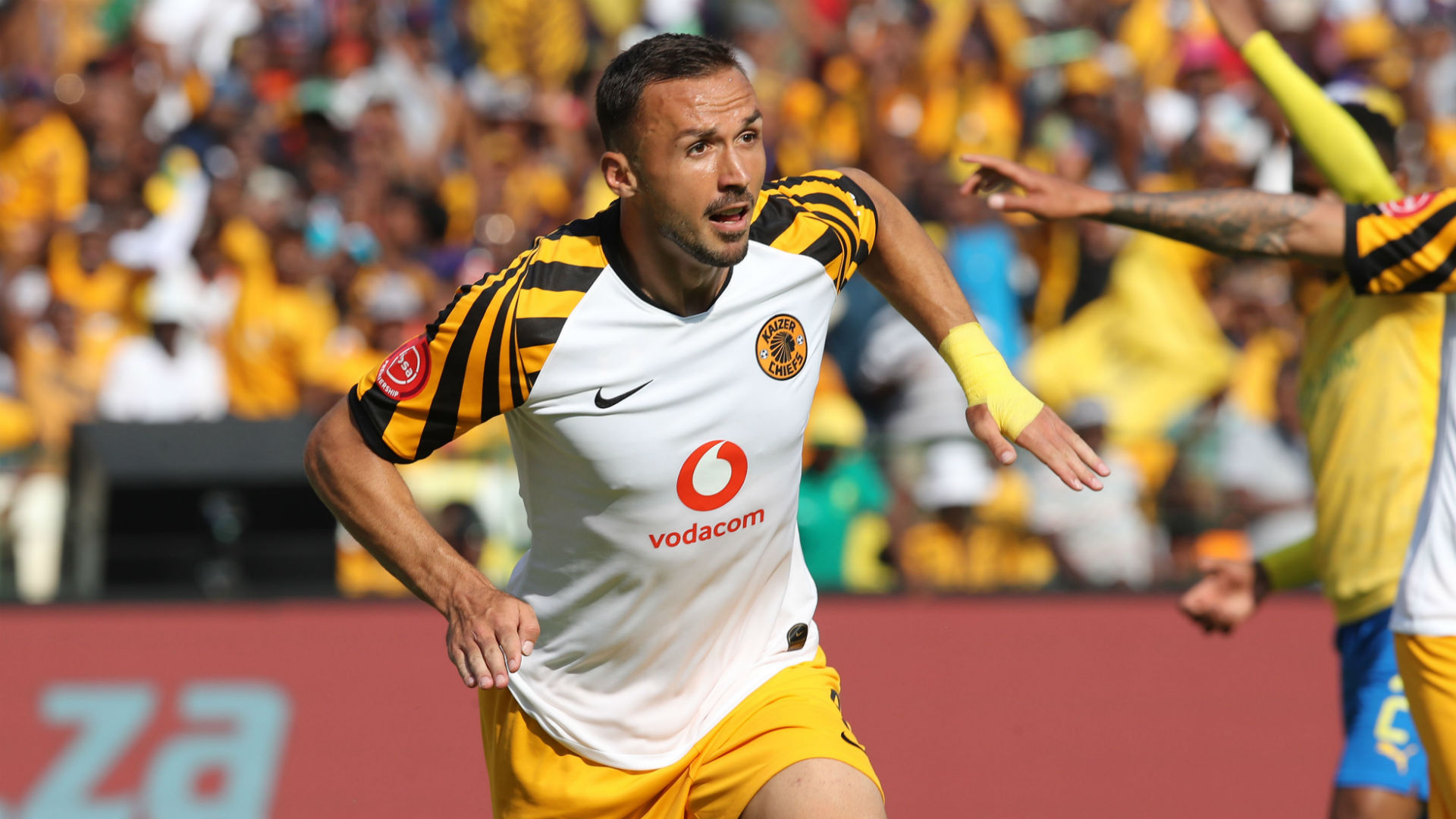 Don't expect miracles from Nurkovic, cautions Kaizer Chiefs defender Mphahlele