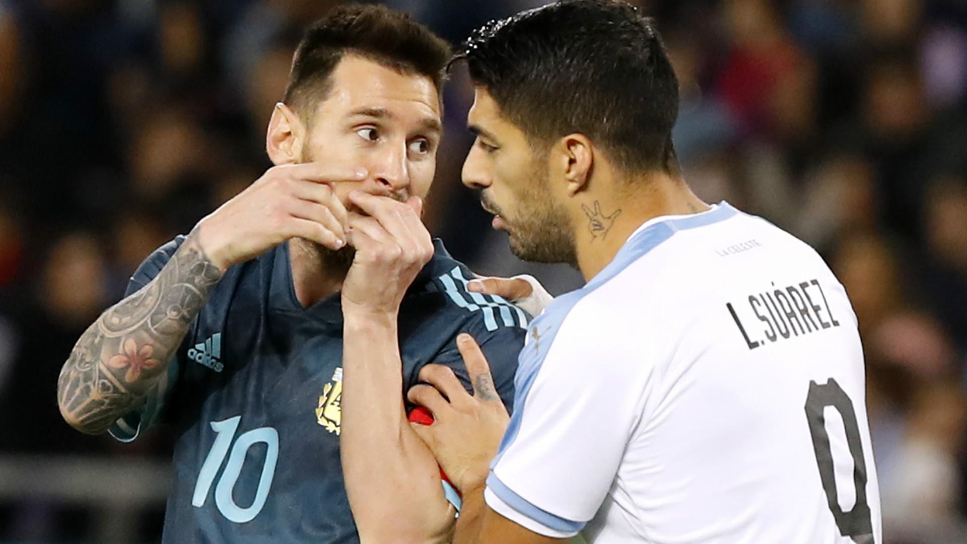 Messi et Cavani ont eu maille à partir durant Argentine-Uruguay — Amical