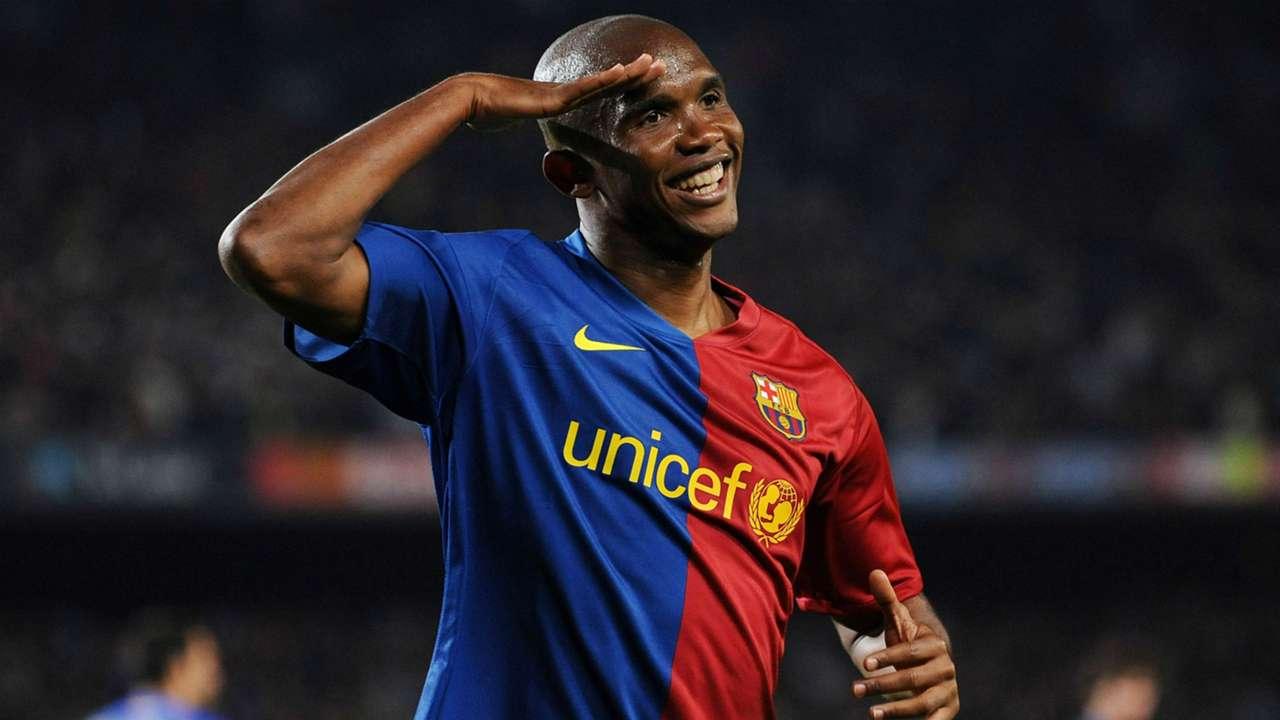 Samuel Eto'o Barcelona 2009