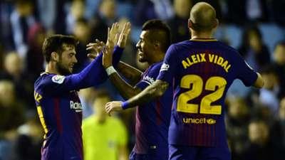 Jose Arnaiz Aleix Vidal Barcelona Celta Vigo