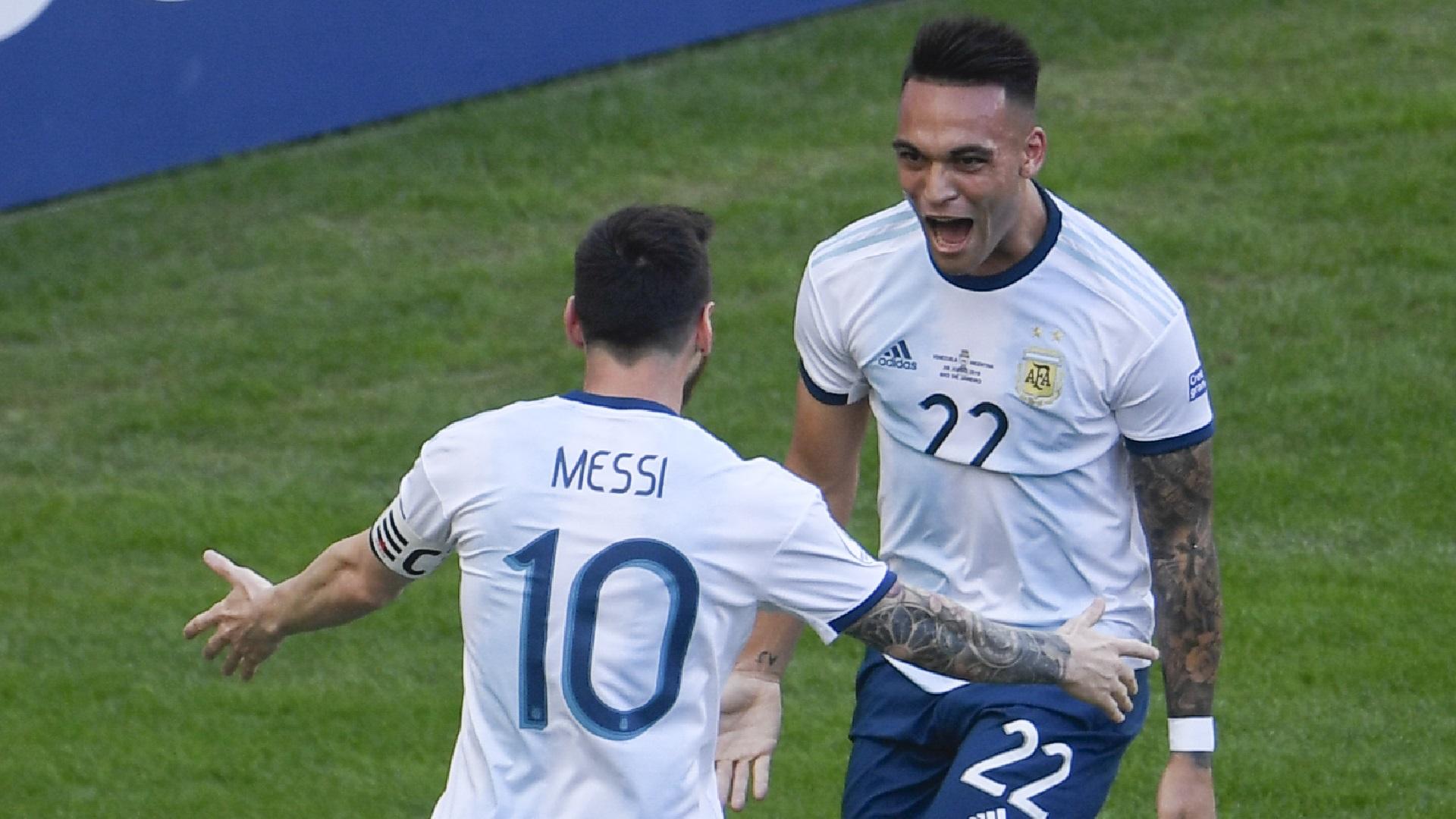 """Messi le abrió la puerta de Barcelona a Lautaro Martínez: """"Es un ..."""