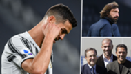 Ronaldo, Pirlo, Perez, Zidane