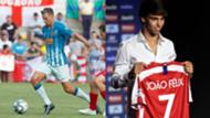 Marcos Llorente Joao Felix Atletico Madrid