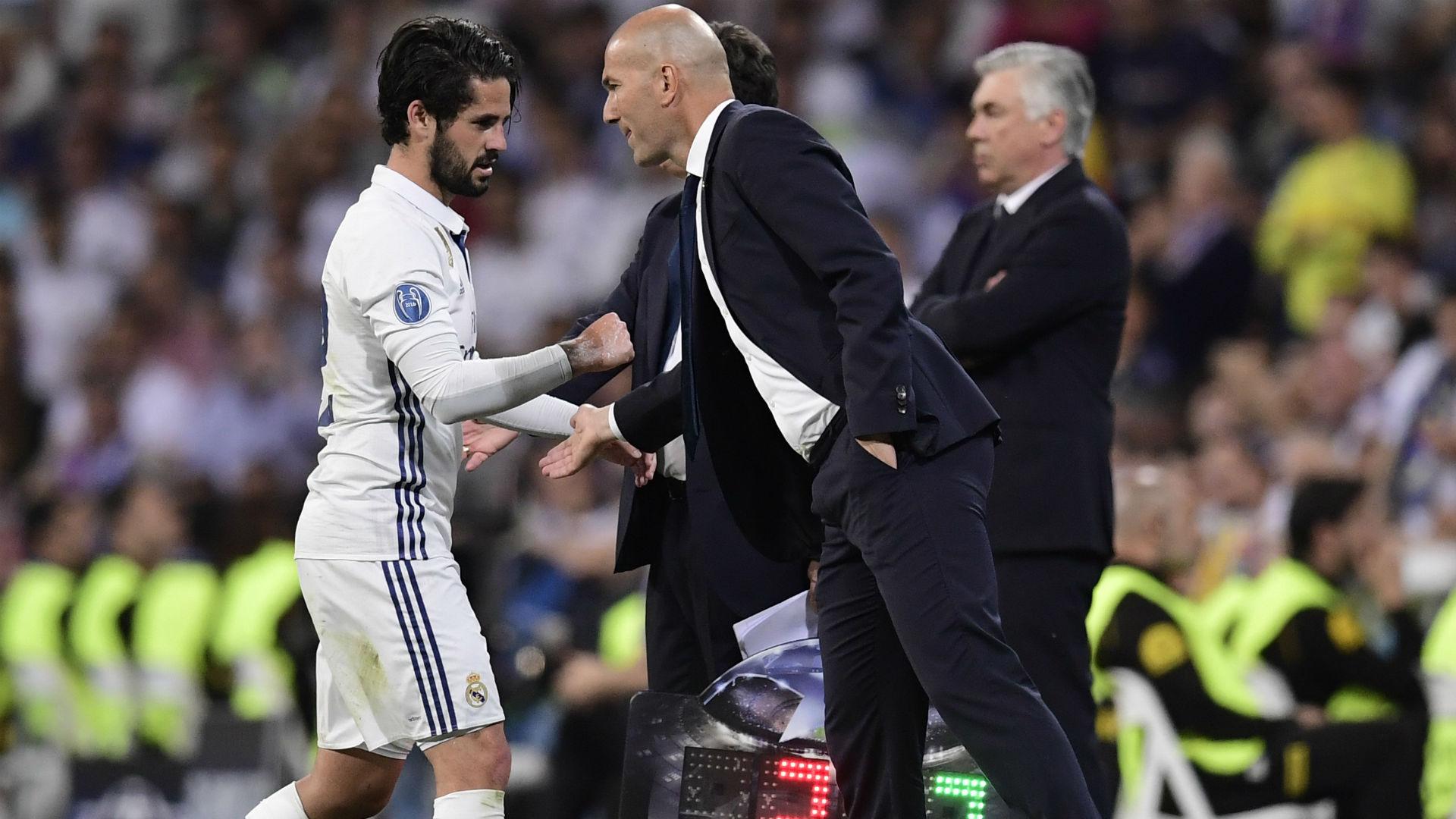 Isco Zidane Real Madrid