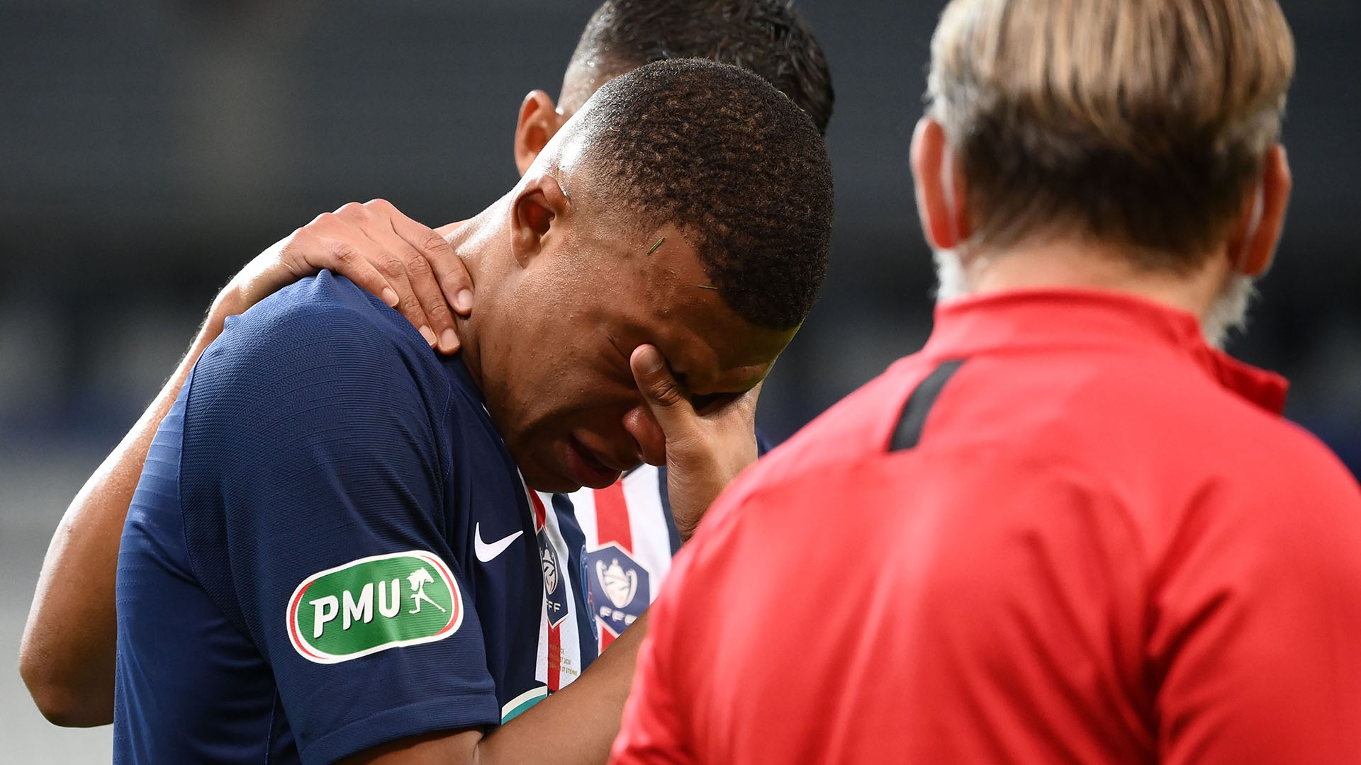 PSG striker Mbappe to miss Champions League quarter-final