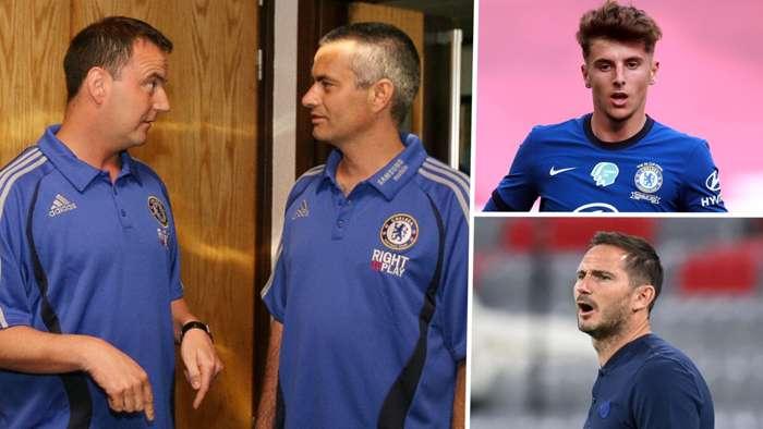 Neil Bath Jose Mourinho Mason Mount Frank Lampard Chelsea GFX