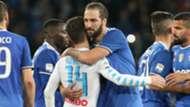 Higuain Mertens Napoli Juventus Serie A