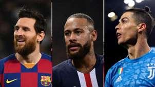 GFX Messi Neymar Cristiano Ronaldo