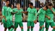 Real Madrid celebrate Toni Kroos goal vs Valencia, Spanish Super Cup 2020
