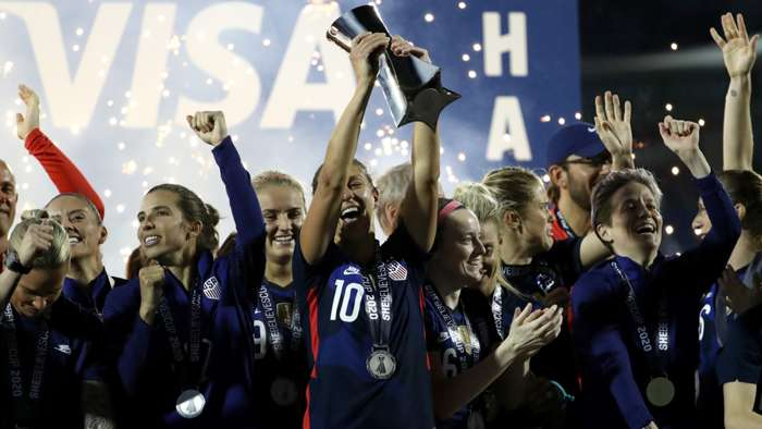 USWNT SheBelieves Cup 2020