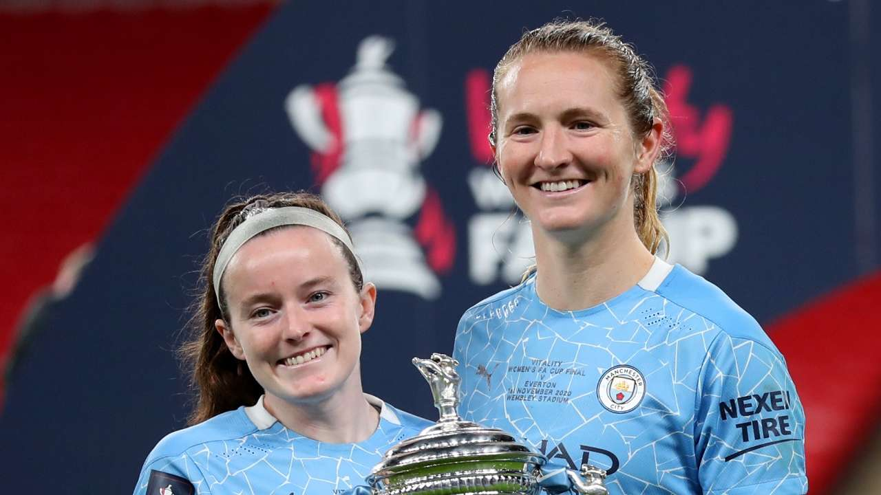 Sam Mewis Rose Lavelle Manchester City Women 2020-21