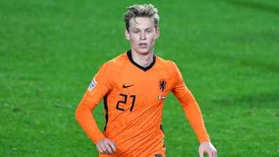 Euro 2020 Top 100 Frenkie de Jong