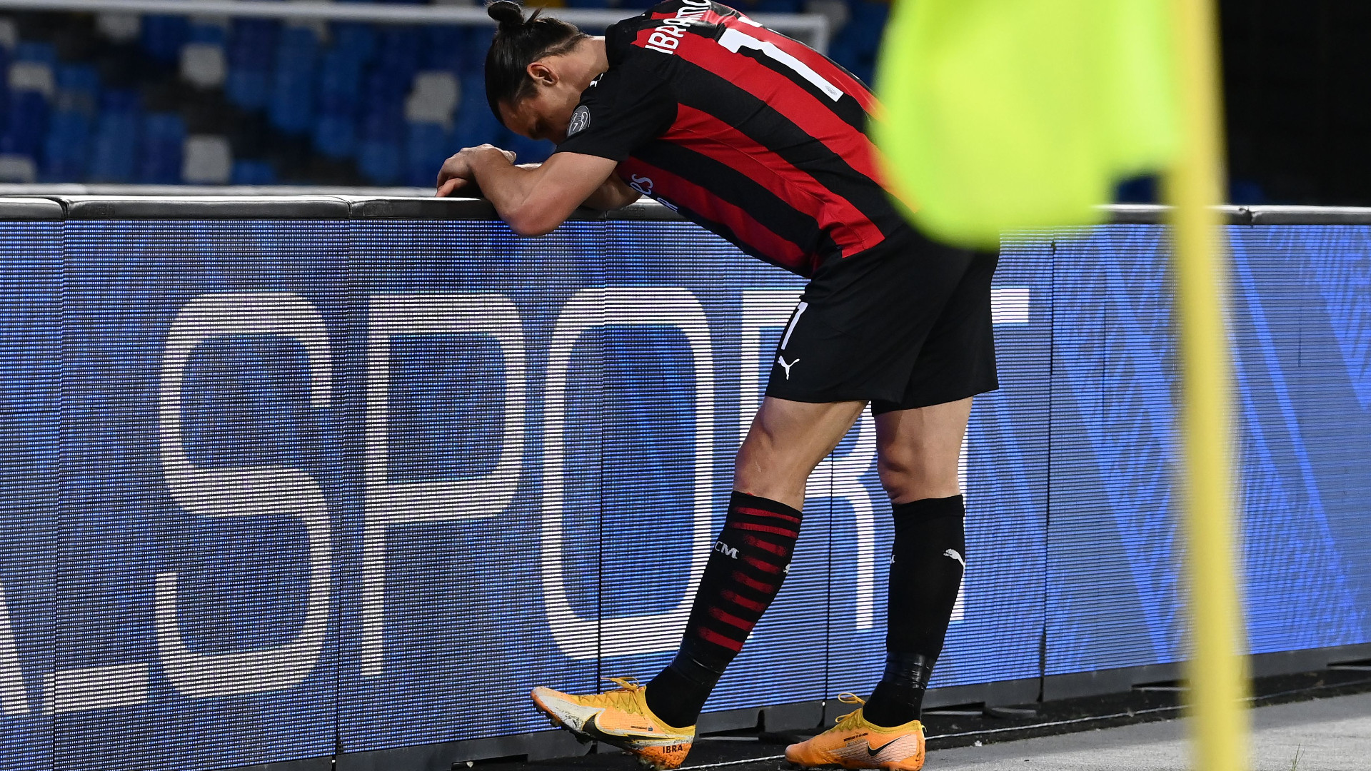 Infortunio Ibrahimovic, come sta l'attaccante del Milan