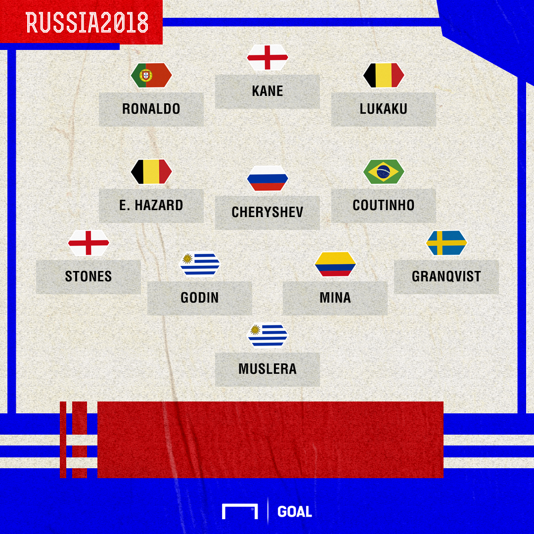 Fantasy Group Stage XI graphic