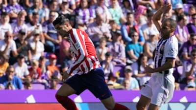 Alvaro Morata Nacho Valladolid Atletico de Madrid LaLiga 06102019