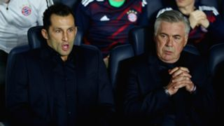Carlo Ancelotti Willy Sagnol Bayern Munich