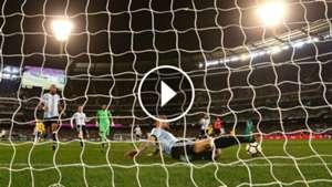 video otamendi argentina brasil