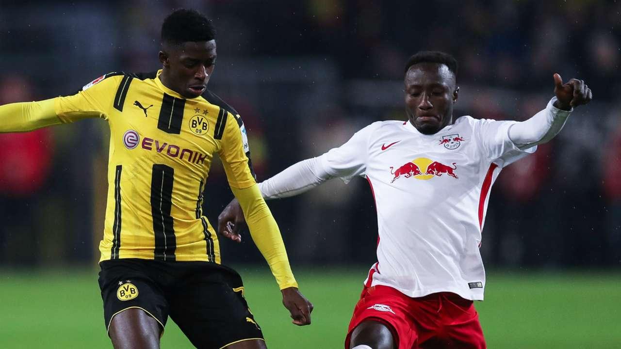 Ousmane Dembele Naby Keita Borussia Dortmund RB Leipzig 04022017