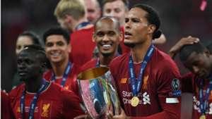 Virgil van Dijk Liverpool UEFA Super Cup 2019