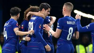 Chelsea celebrate 2018-19