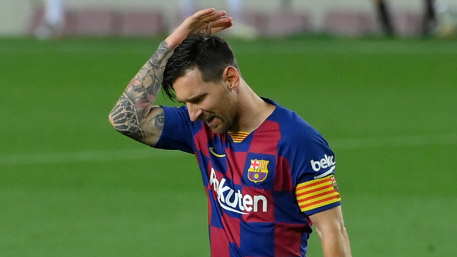 What does 'can they do it on a cold rainy night in Stoke' mean? Messi phrase explained
