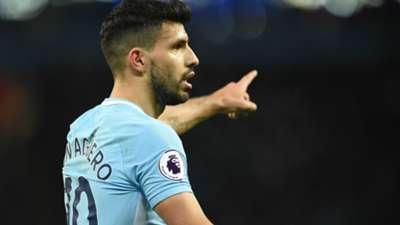 Sergio Agüero Manchester City 10022018