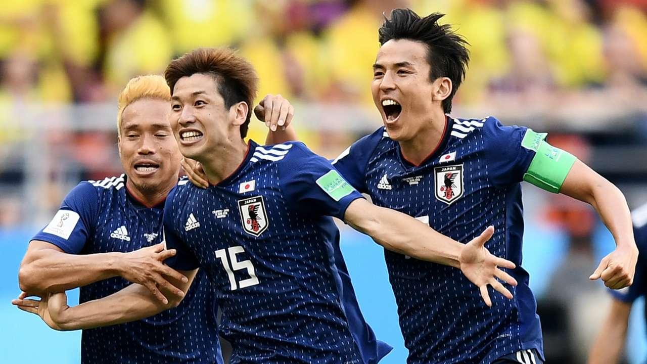 Yuya Osako Japan 2018 World Cup