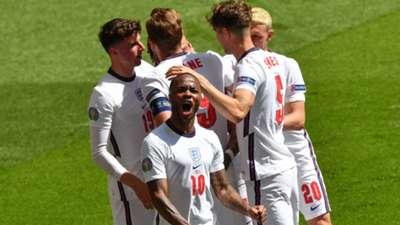 Raheem Sterling England vs Croatia Euro 2020