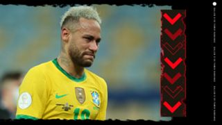 Neymar Ballon d'Or Rankings GFX