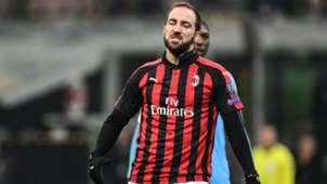 Gonzalo Higuain Milan Dudelange Europa League