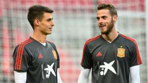 Kepa Arrizabalaga David de Gea Spain 2018