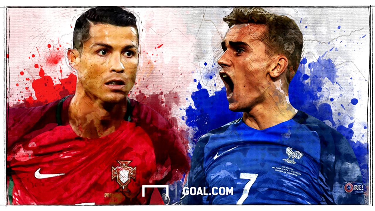 Ronaldo vs Griezmann H2H GFX