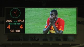 Angola 4 Mali 4 African Cup of Nations 2010
