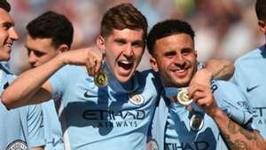 John Stones Kyle Walker Manchester City