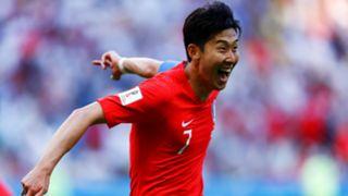 Son Heung-Min South Korea Germany World Cup 2018