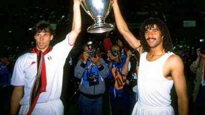 Marco van Basten Ruud Gullit AC Milan