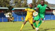 Joash Onyango of Gor Mahia vs Mathare United.